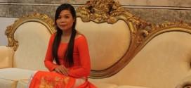Chị Trịnh Thị Vân - Quản lý kinh doanh kênh MT miền Nam