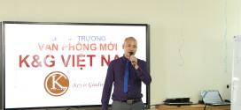 Anh Tăng Văn Khanh – Tổng giám đốc K&G chia sẻ cảm xúc