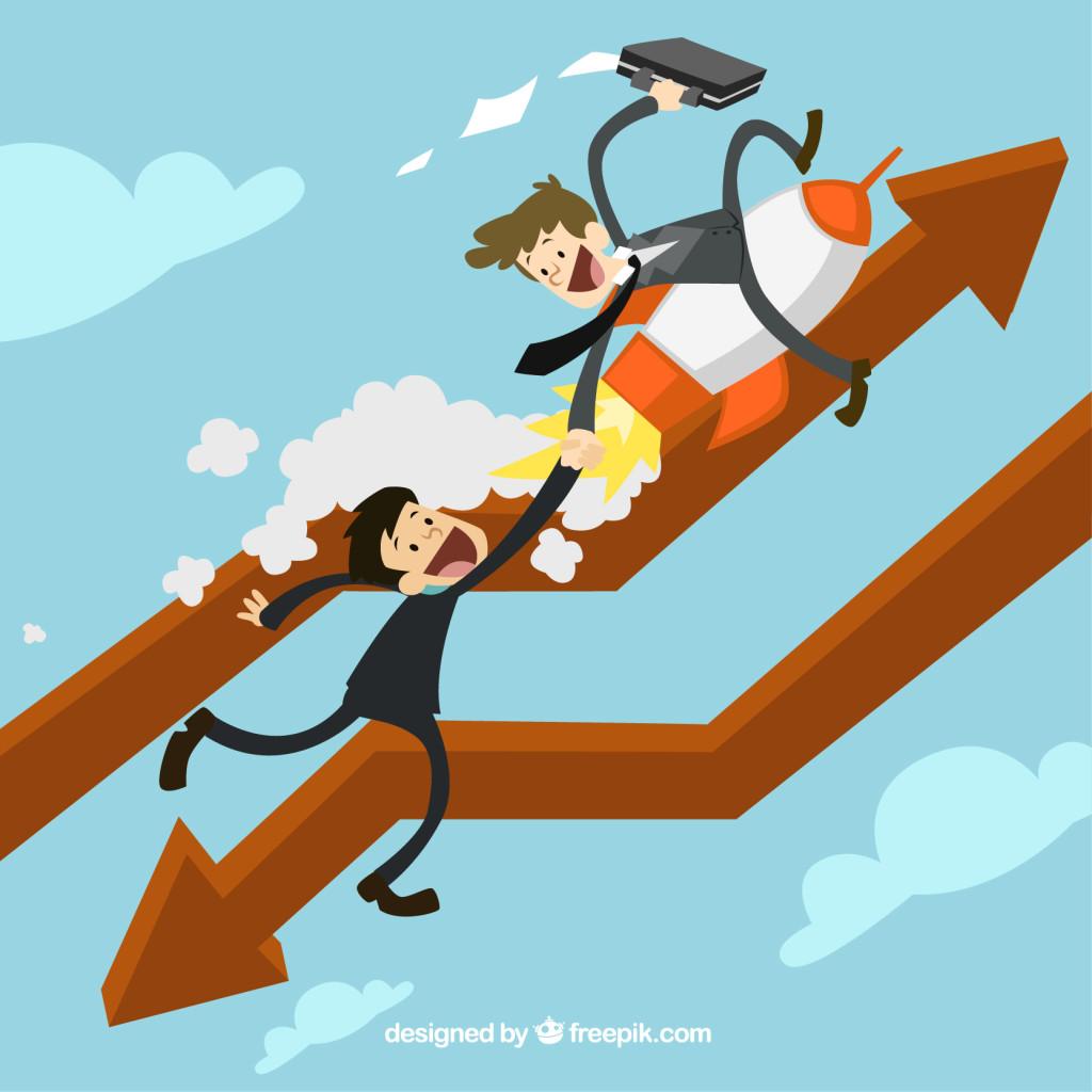 Giúp đỡ đồng nghiệp của bạn và cho họ niềm tin là một cách tuyệt vời để gây ấn tượng và vượt qua họ.