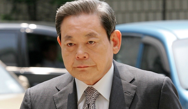 Former Chairman of Samsung (Korea)  The South Korean High Court in October upheld a suspended three-year jail sentence for former Samsung Electronics Chairman Lee Kun Hee for his tax evasion conviction last summer. Lee was also fined $85 million. Lee, who led Samsung, the country's biggest conglomerate, for nearly 20 years, resigned as the chairman of the group and chairman and CEO of flagship Samsung Electronics after he was indicted last April.